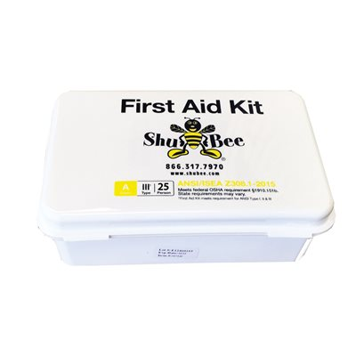 ShuBee® 25 Person, Class A, Type III, First Aid Kit