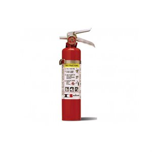 Fire Extinguisher, ABC Class, 2.5 lb, Vehicle Bracket