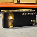 ShuBee® Black Gauntlet® Gold Edition Black Nitrile Glove