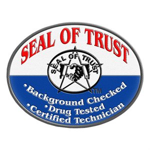 ShuBee® Seal of Trust® Oval Patch