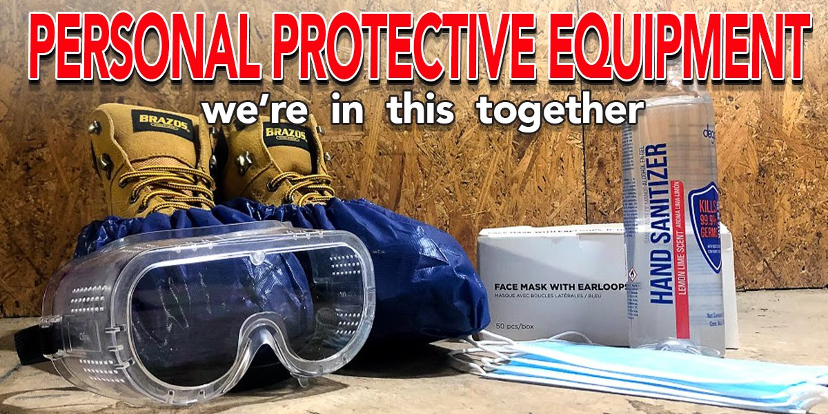 Personal Protective Equipment for service professionals